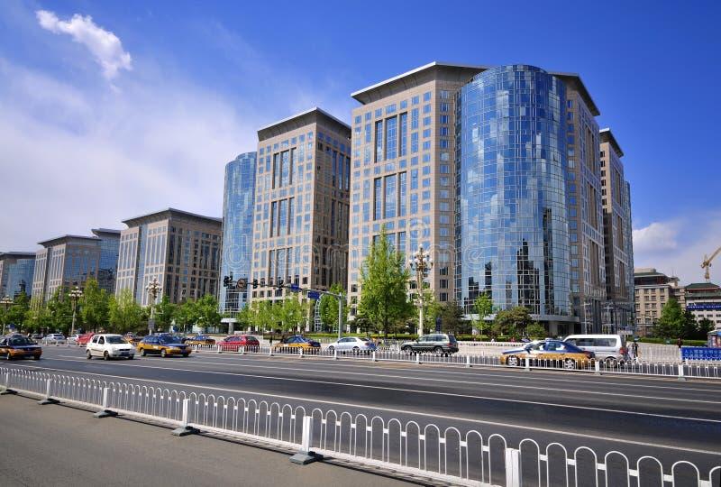 China Beijing Chang uma avenida imagens de stock royalty free