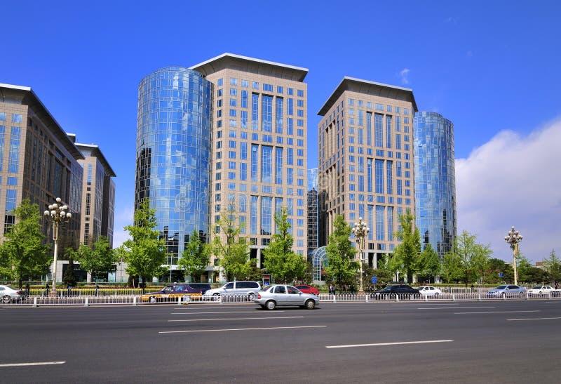China Beijing Chang uma avenida fotos de stock