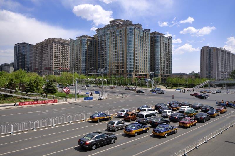 China Beijing Chang uma avenida imagens de stock