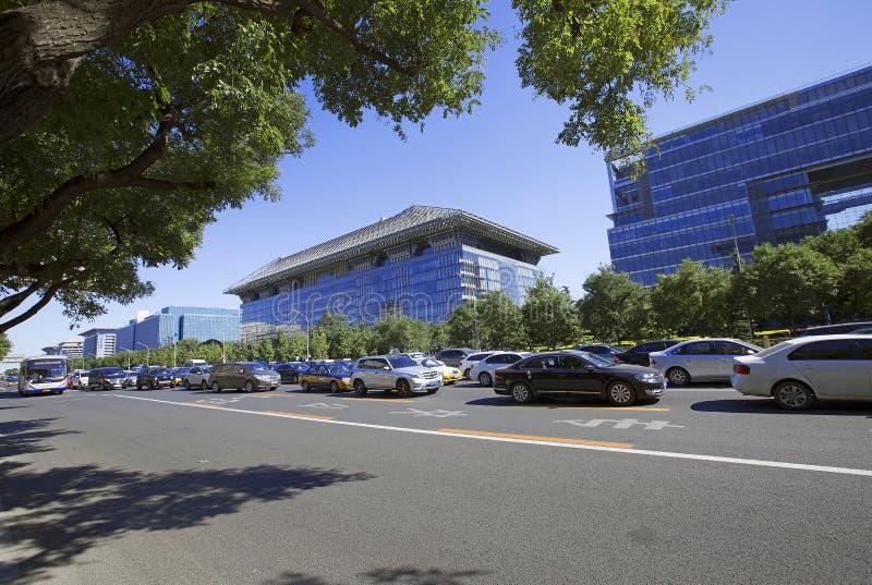 China Beijing Chang uma avenida foto de stock