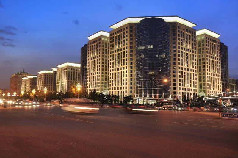 China Beijing Chang uma avenida, plaza oriental imagens de stock