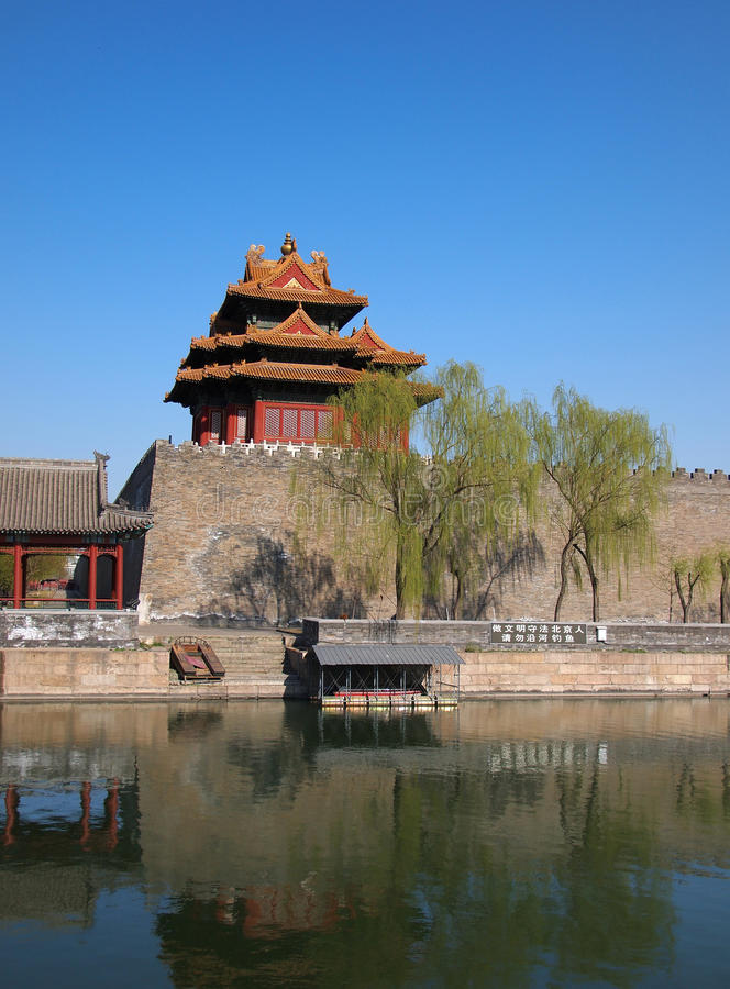 Download China Beijing Forbidden City Gate Tower Editorial Photo - Image: 24254011