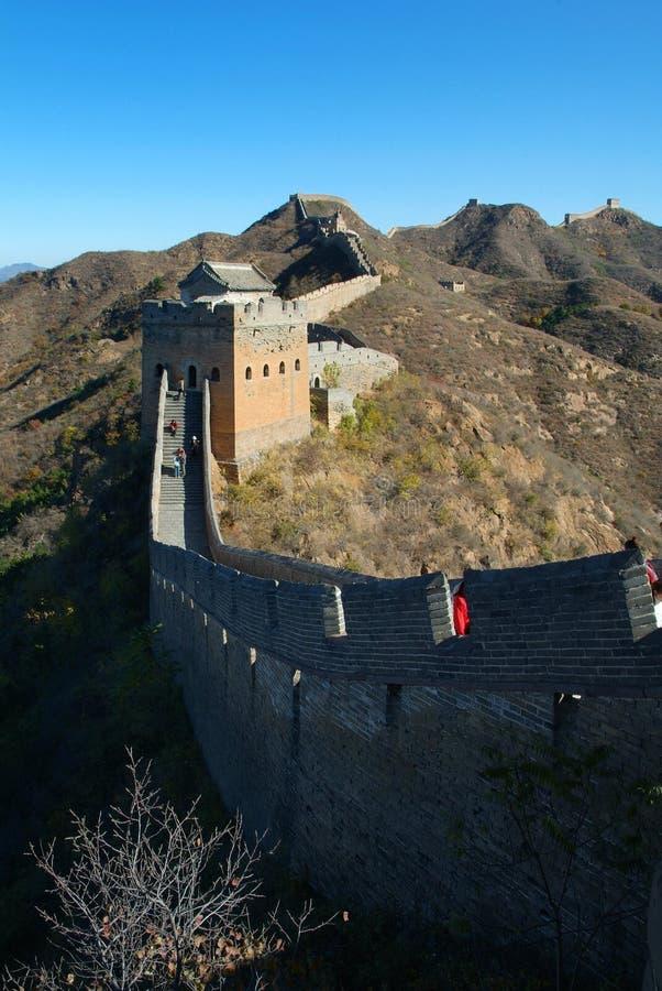 China-Chinesische Mauer lizenzfreie stockfotografie