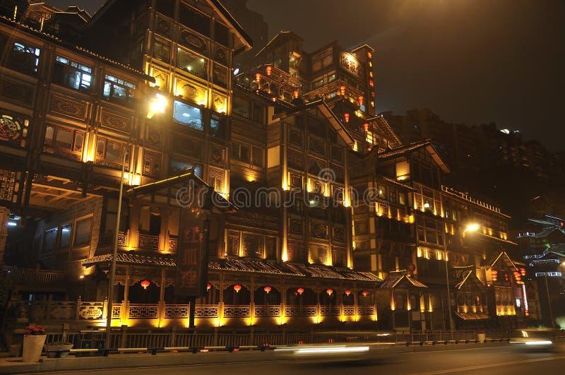 China Chongqing City,Chinese New Year stock photos