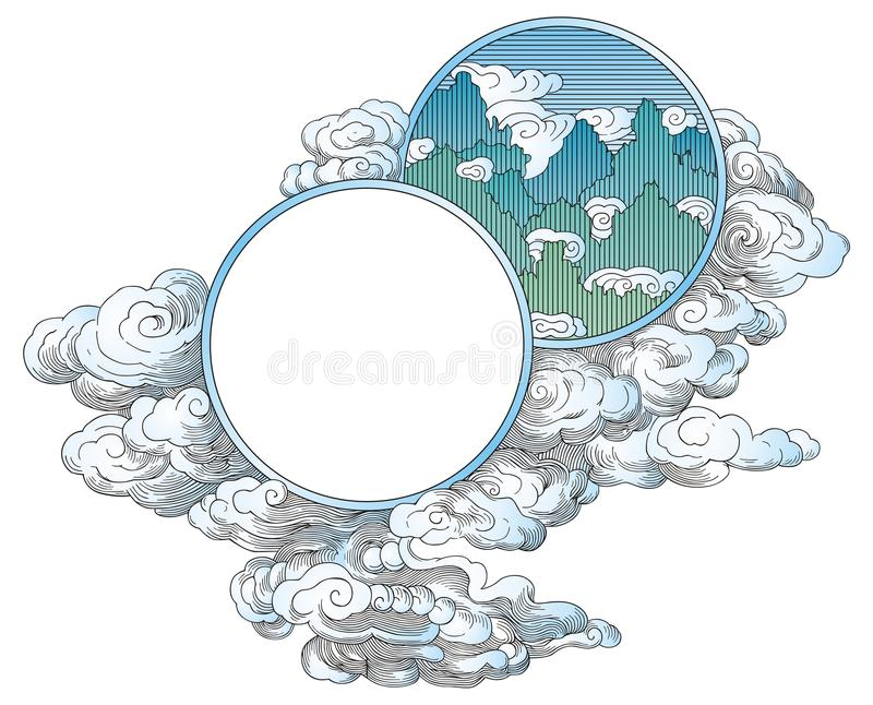 Download China clouds ornament stock vector. Illustration of cloud - 11740453
