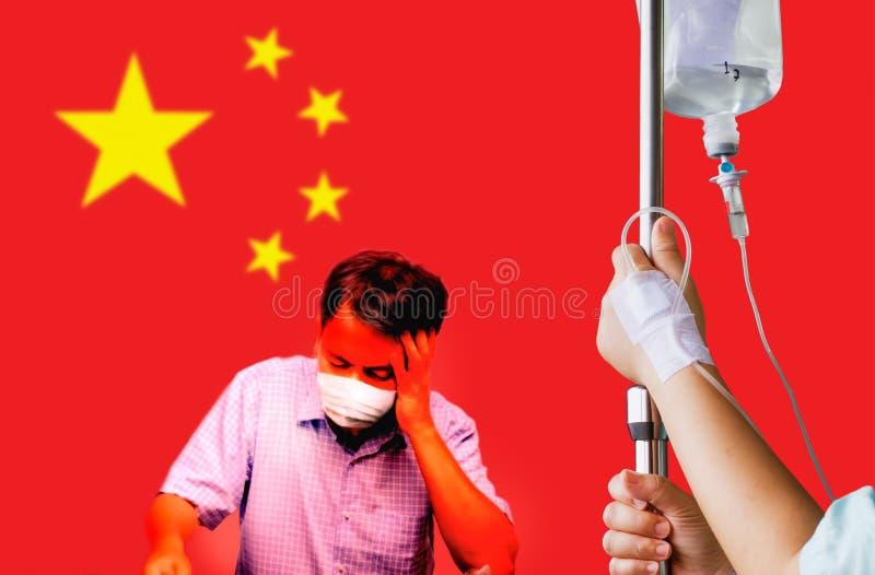 China coronavirus outbreak. In wuhan stock photo