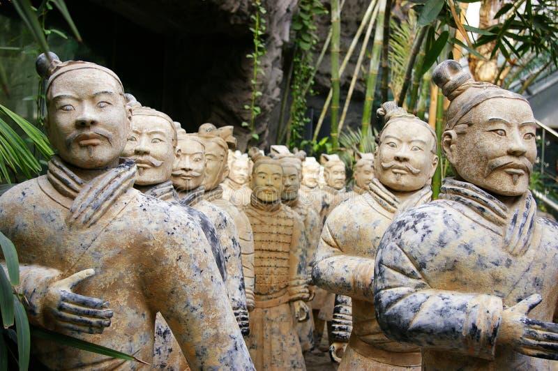 China de los guerreros de la terracota foto de archivo