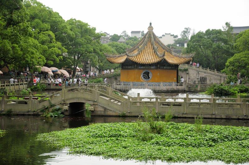 China del área escénica del templo de Puji fotos de archivo