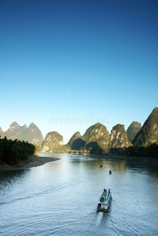 China del yangshuo del río de Lijiang fotos de archivo libres de regalías