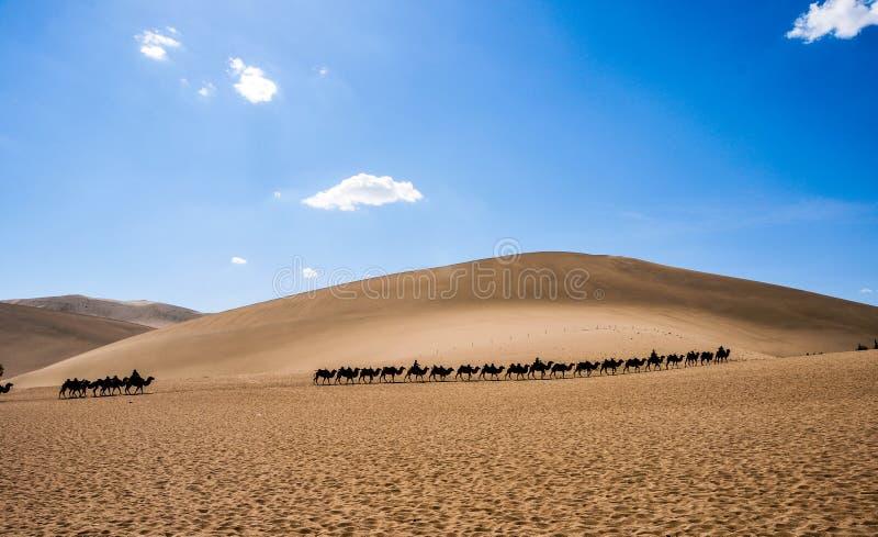 China Dunhuang Crescent Spring royalty free stock photos