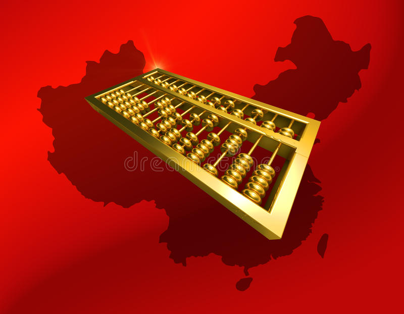Download China economic stock illustration. Image of gold, object - 13734862