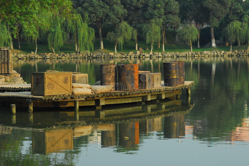 Download China Ferry pier stock photo. Image of scene, lakes, lake - 21738046