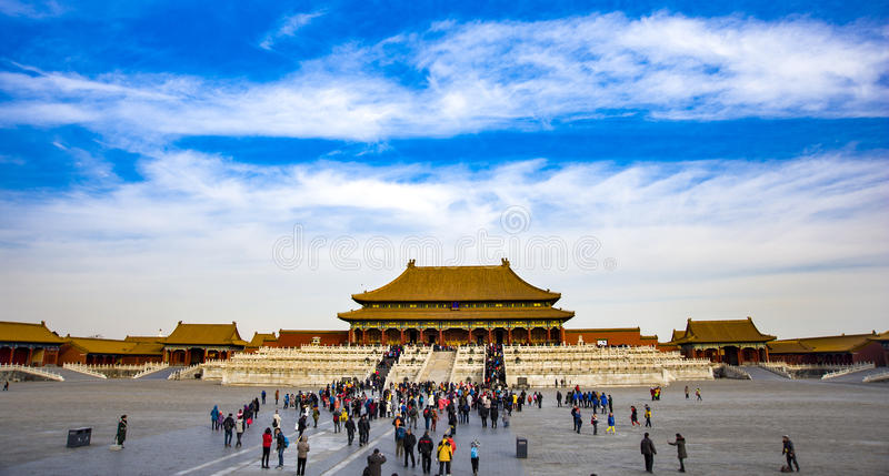China Forbidden City stock images