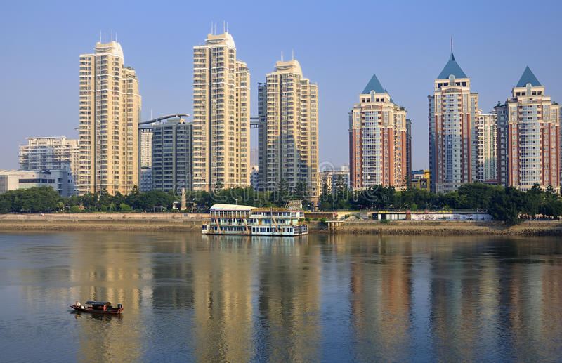 China Fuzhou Urban stock image