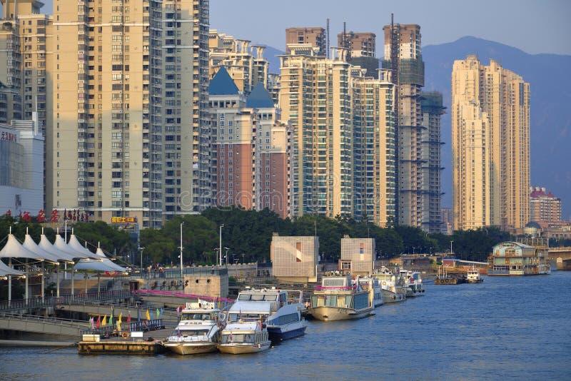 China Fuzhou urbano imagem de stock