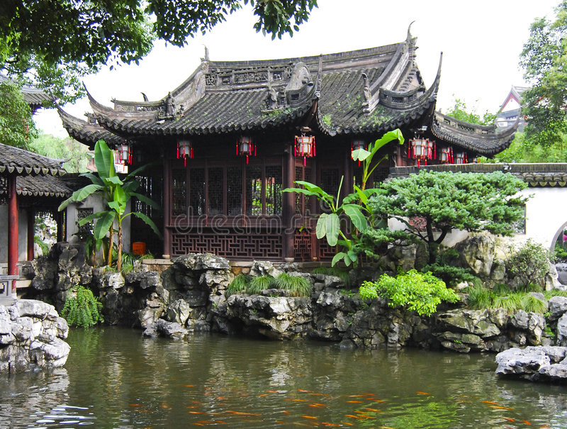 Download China Garden stock photo. Image of eastern, countryside - 4501432