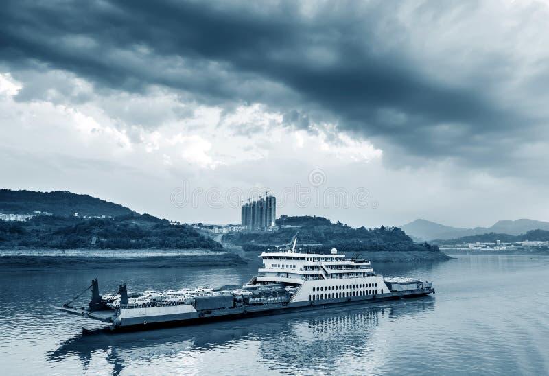 China& x27; größte Flüsse s: der Yangtze stockfotografie