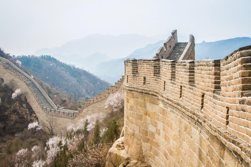 China, Grande Muralha de China fotografia de stock royalty free