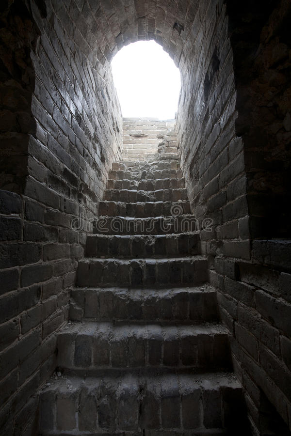 Download China Great Wall Fortress stock photo. Image of miracle - 28562512