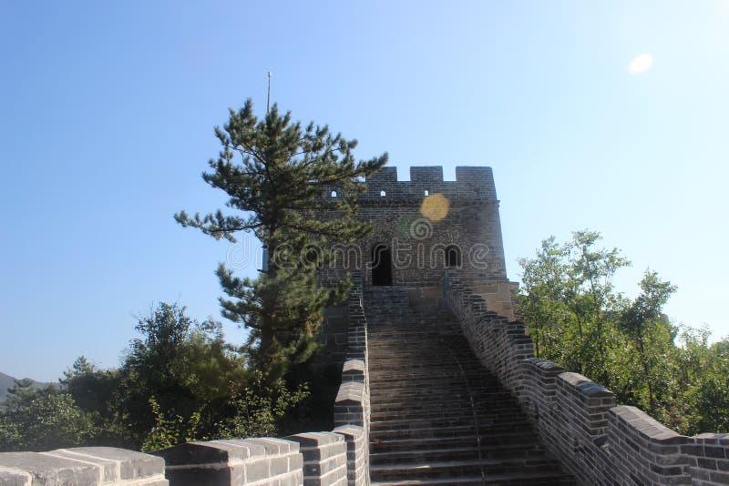 China Great Wall Tower royalty free stock photos
