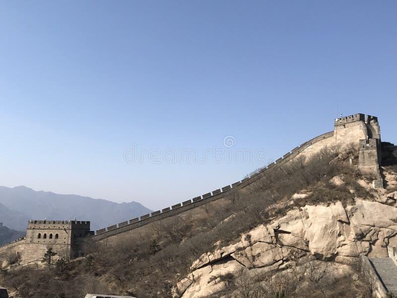China great wall stock image