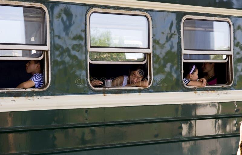 China - green skin train