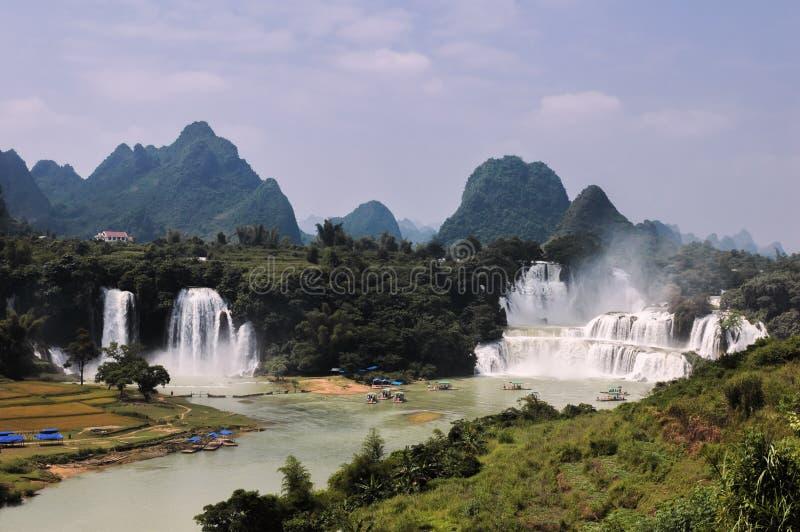 China Guangxi Detian Waterfall royalty free stock photo