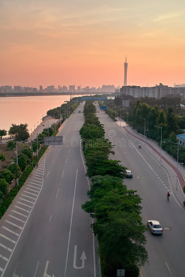 Download China Guangzhou City Road Stock Photo - Image: 15251590