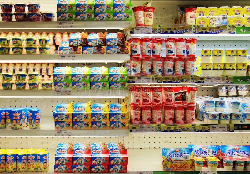 China guangzhou: Convenience store stock photo