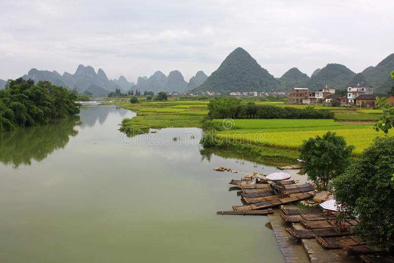 Download China, Guilin stock photo. Image of beauty, plants, landscape - 15531262
