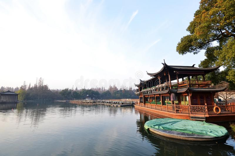 China Hangzhou West Lake royalty free stock photo