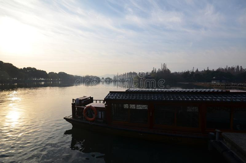 China Hangzhou West Lake royalty free stock image