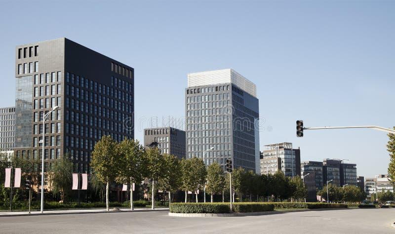 China-Hightech- Parklandschaft. lizenzfreie stockfotografie