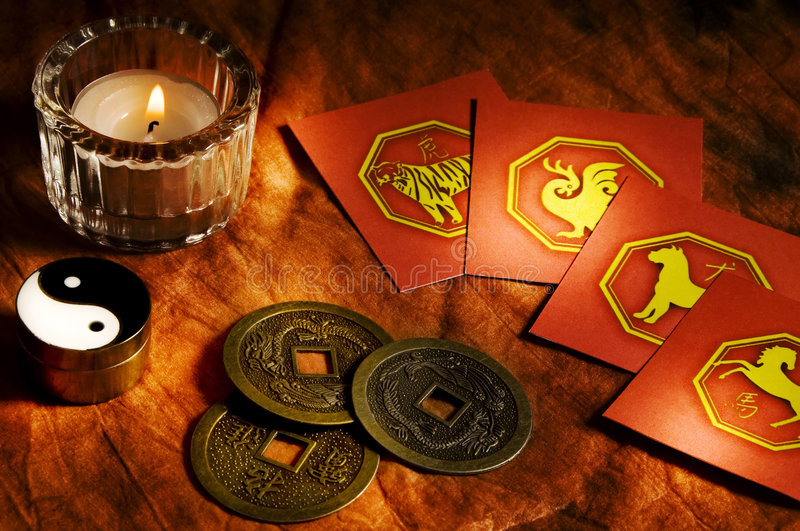 Download China horoscope stock photo. Image of candle, iking, divination - 7030376