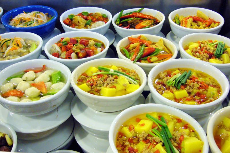 China hunan snack representative. Hunan cuisine is oneChina's four big cuisinesChina,firechangshahunan palace ishunan snack traditional shops, with spicy and stock images