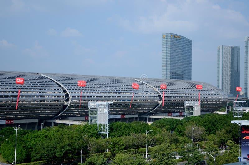 China Import and Export Fair 2019 arkivbild