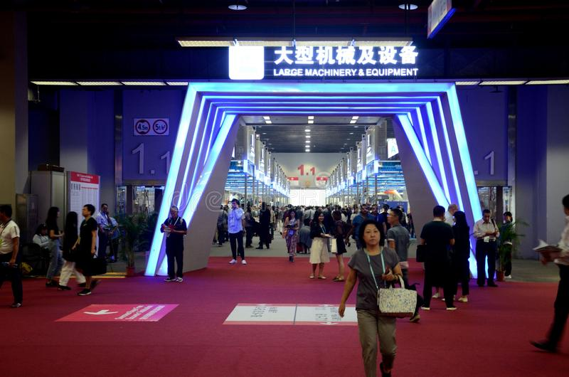 China Import and Export Fair 2019 stock foto