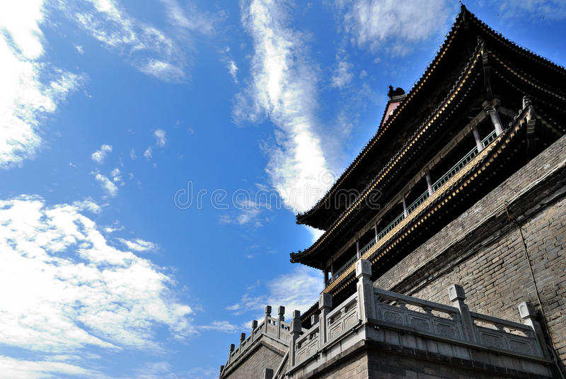 China-Kontrollturm 2 stockbild