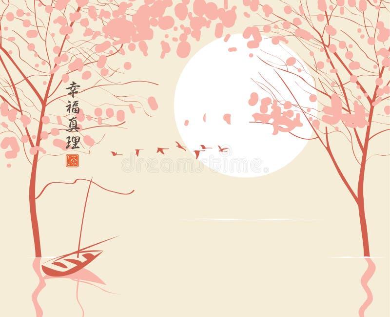 China landscape royalty free illustration