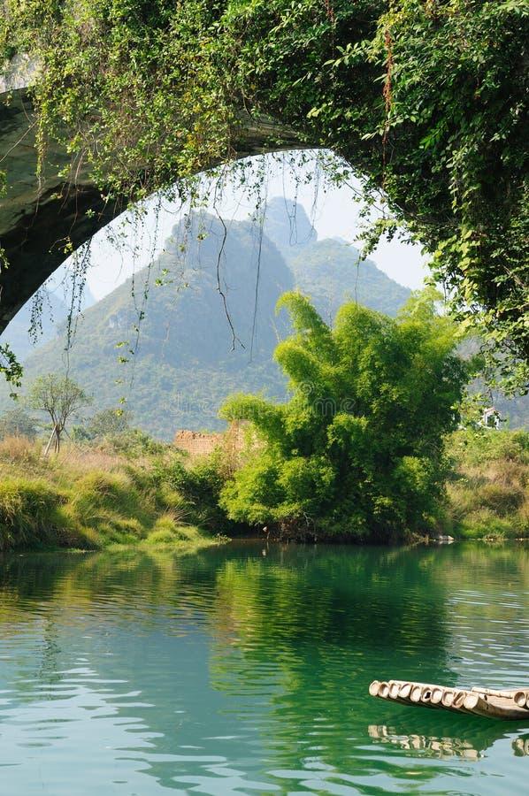 Download China - Li-river, Yangshuo stock photo. Image of nature - 17555874