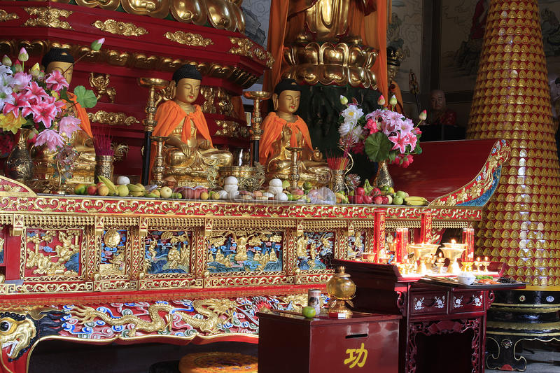 China with long history. Qianshan a long history, as early as during the Northern Wei, the Mille Collines have a Buddhist trail. Liao and Jin era, Buddhism is stock photography