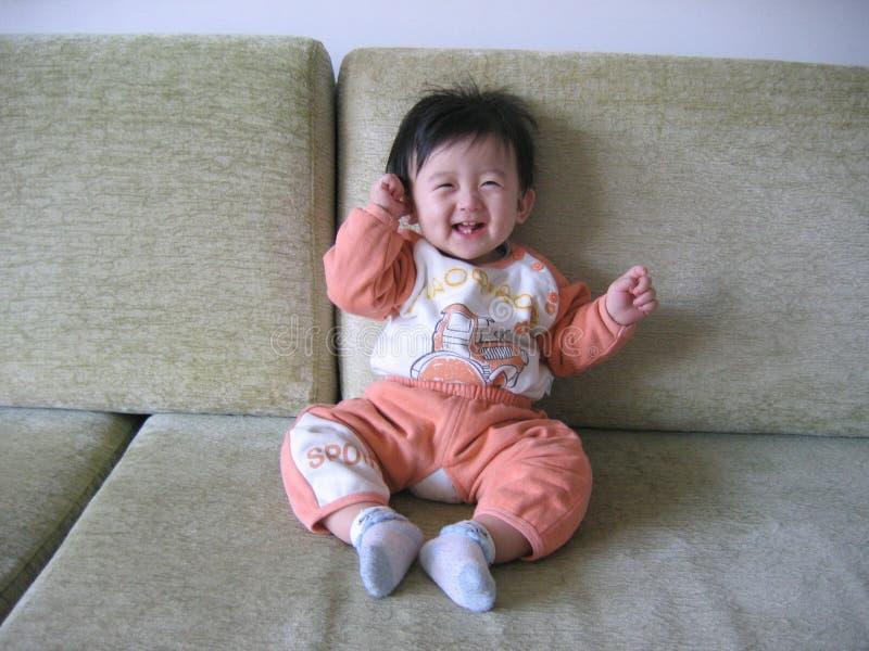 China lovely baby stock photo