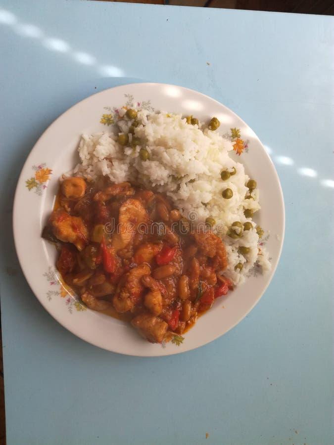 China-Mahlzeit stockbild