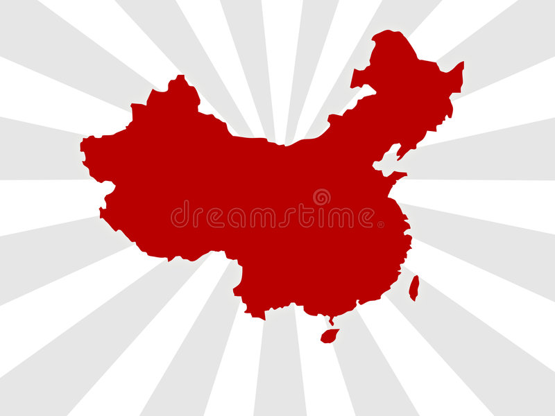 Download China map stock illustration. Illustration of east, games - 4645827