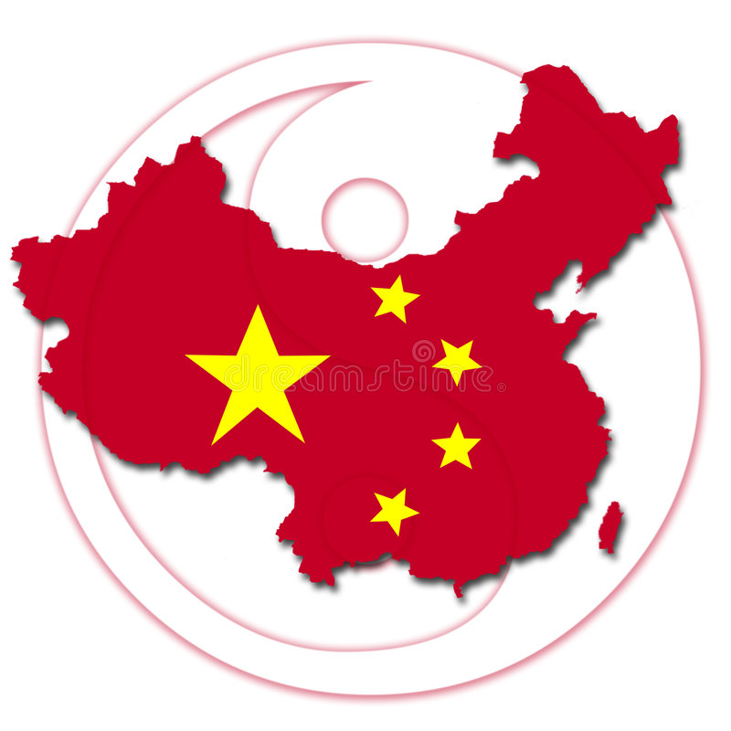 Download China map stock illustration. Image of graphic, geography - 7622201