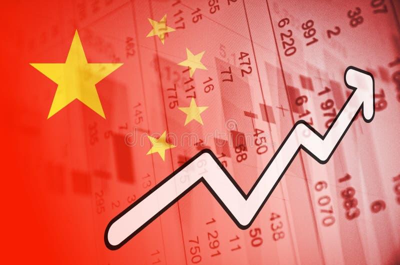 China-Markt lizenzfreie stockfotografie