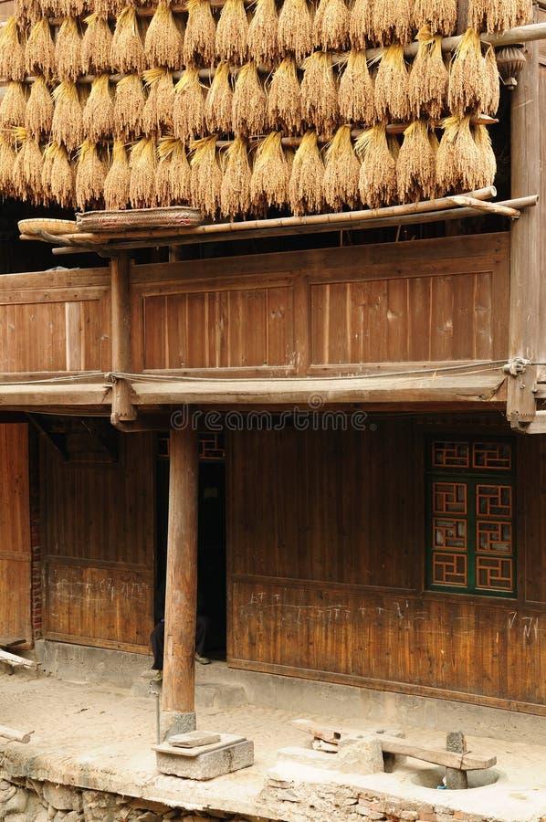 Download China - minority village stock image. Image of wooden - 17616671