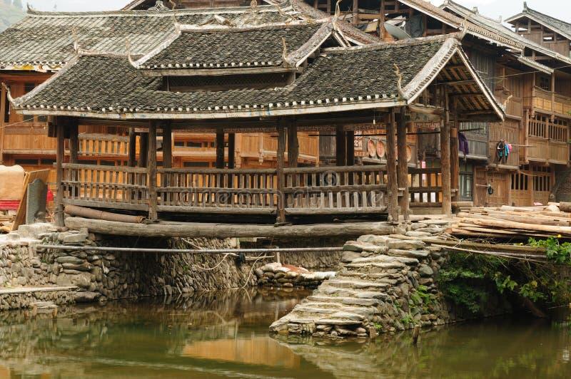 China - Minority Village Royalty Free Stock Photos