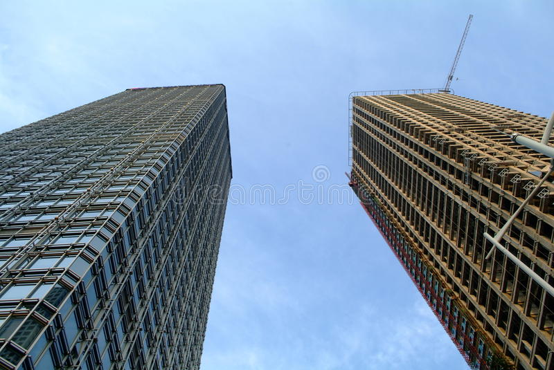 Download China Modern Skyscraper Under Construction Stock Image - Image: 31032405