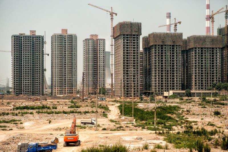 China moderna en plena evolución imágenes de archivo libres de regalías